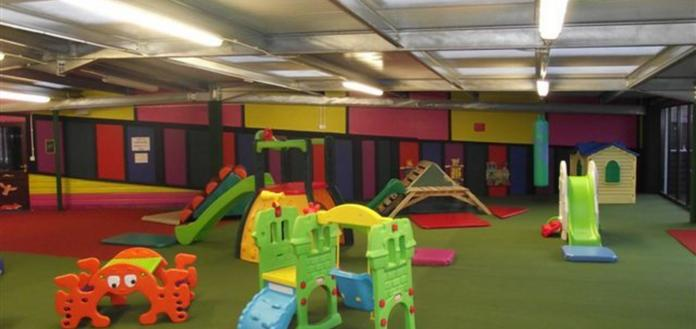 Indoor/Outdoor Children's Play Area