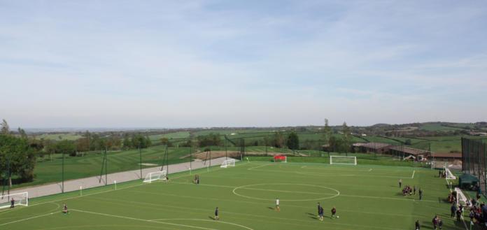 NEW Sports Pitch at Ashbury